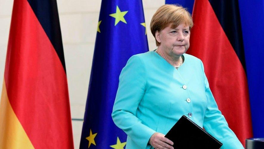 Angela Merkel le 24 juin 2016 à Berlin