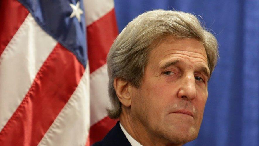 Le secrétaire d'Etat américain, John Kerry, le 20 juin 2016 à Sterling en Virginie