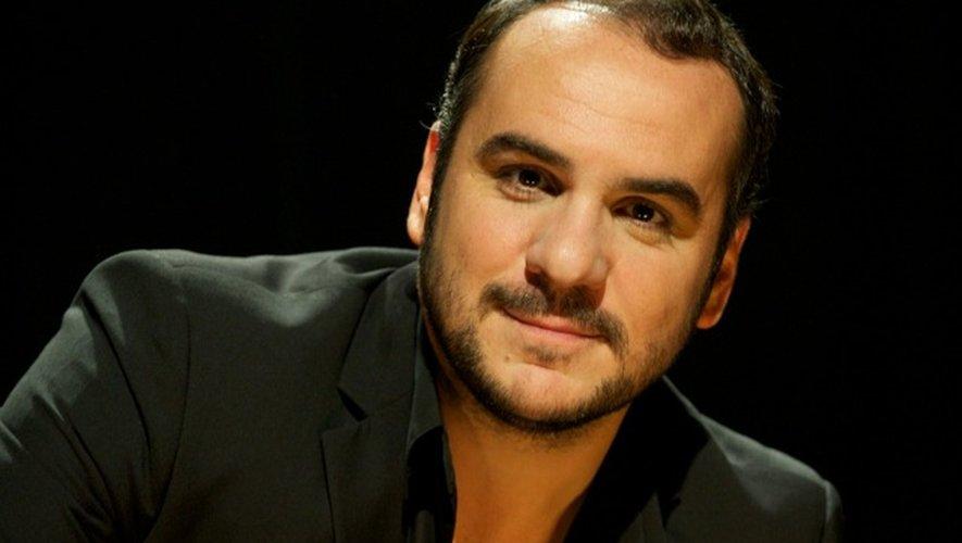 L'humoriste François-Xavier Demaison était sur le vol Paris-Rodez ce matin. Il joue ce soir à Aurillac.