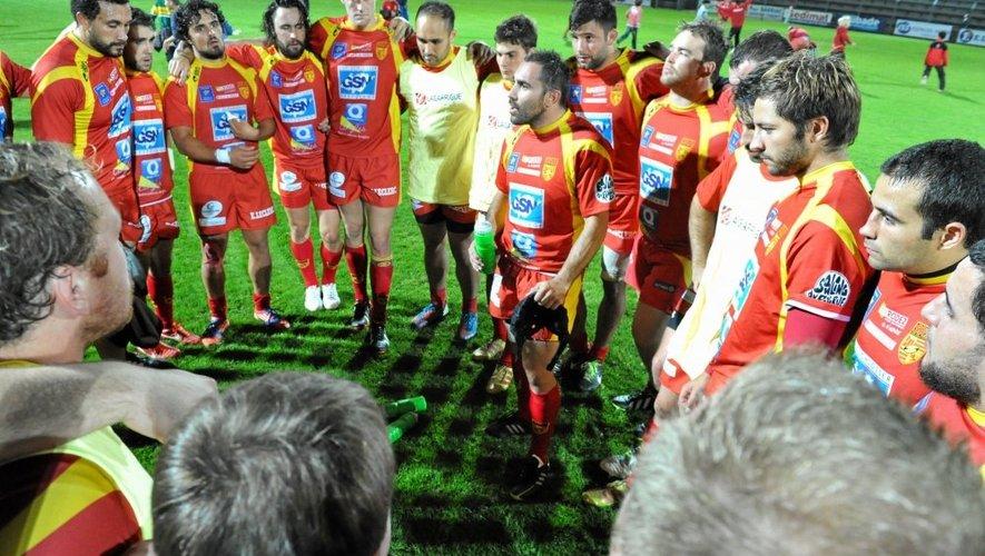Les Ruthénois abattus après leur quatrième défaite de la saison Rodez à Lavaur.