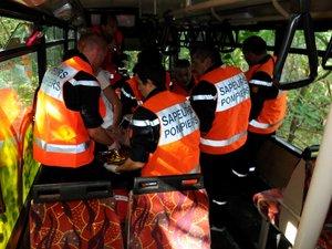 """Saint-Rome-de-Cernon : 62 victimes """"fictives"""" dans un accident"""