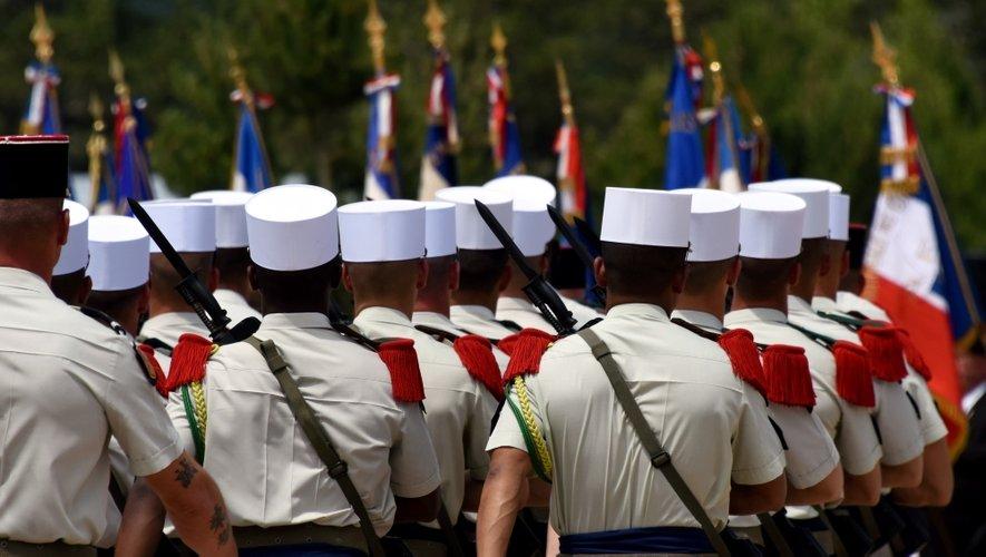 La Légion prend officiellement ses quartiers sur le Larzac
