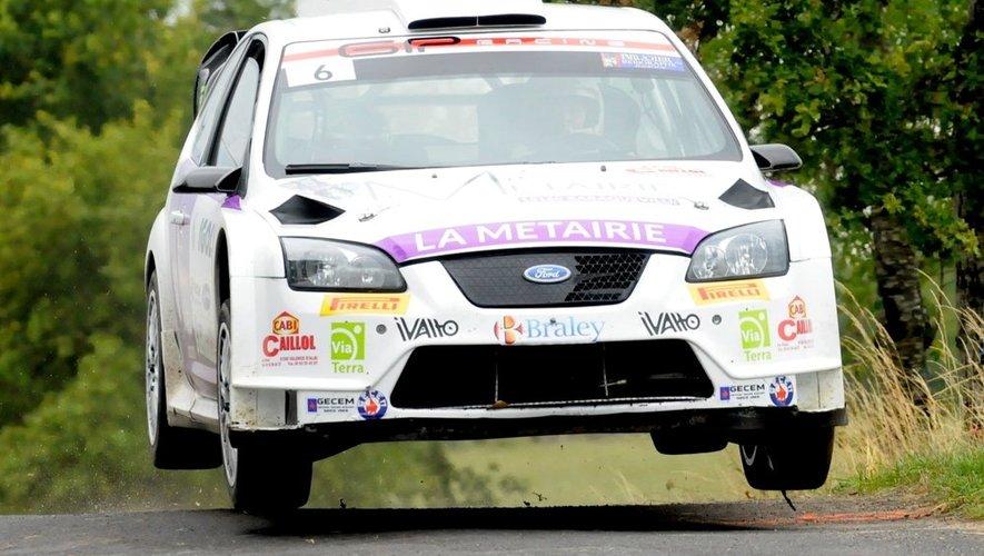 Rallye du Rouergue : Marty domine