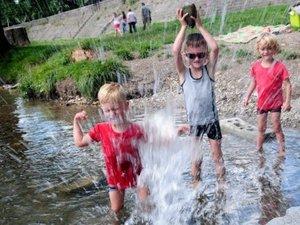 Millau : il est de nouveau possible de se jeter à l'eau !