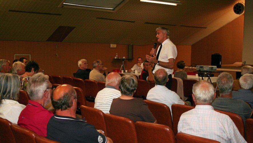 Plus de monde à Cransac qu'à Decazeville pour ces réunions sur le Plan de Prévention des Risques miniers.