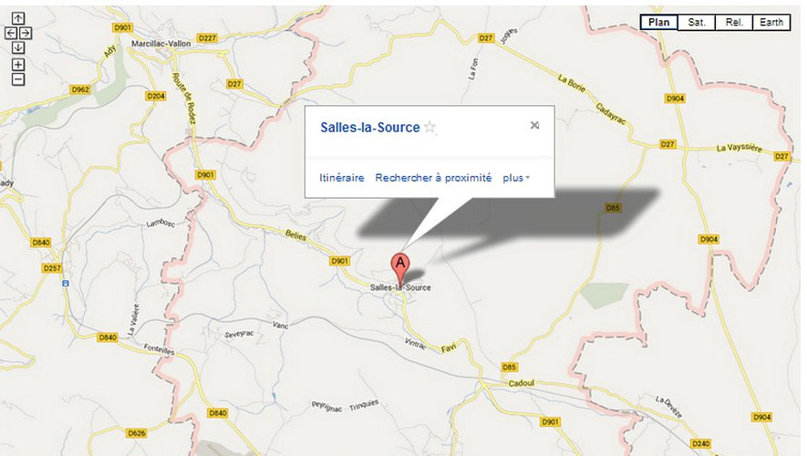L'accident est survenu lors d'une sortie scolaire à Salles-la-Source.