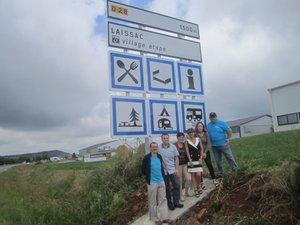 Laissac devient le premier Village étape en Aveyron