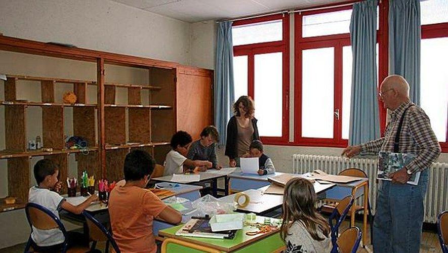 80 enfants de 5 à 17 ans, s'épanouissent dans les différents ateliers proposés.