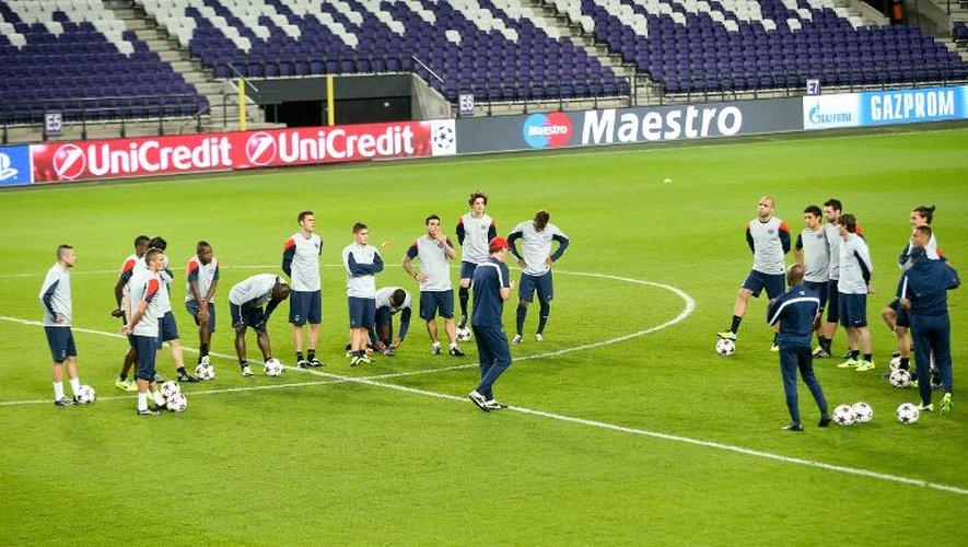 Ligue des champions: le PSG avec son 11 type face à Anderlecht