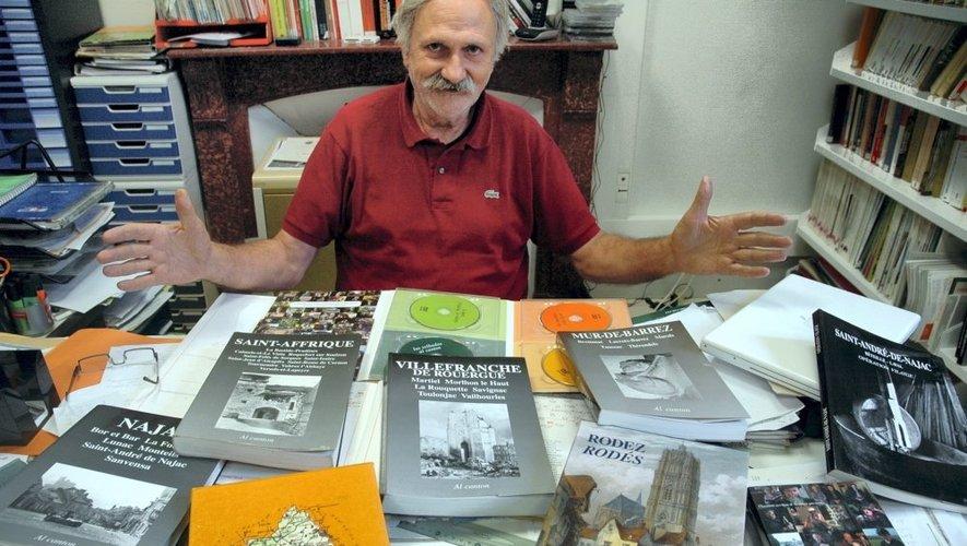 Christian-Pierre Bedel a créé la collection Al canton, véhicule de la culture occitane.