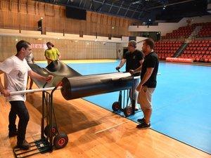 Handball : l'Amphi change de peau pour accueillir les Experts
