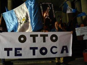 """Guatemala : le président """"numéro un"""" d'un réseau de corruption"""