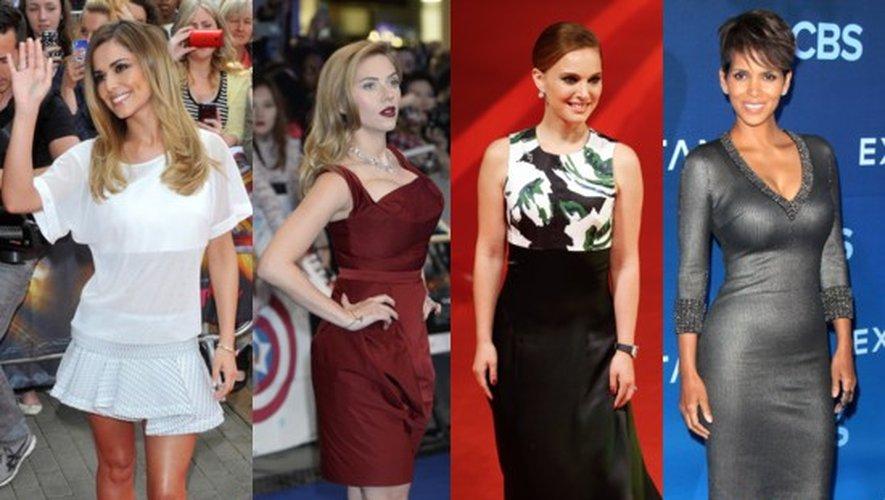Les amoureux français de Cheryl Cole, Scarlett Johansson, Natalie Portman et Halle Berry