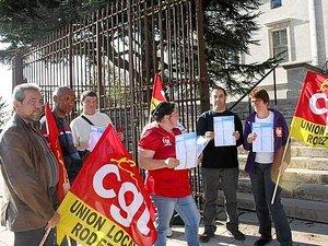 Marcillac : la colère des salariés de Filtrauto