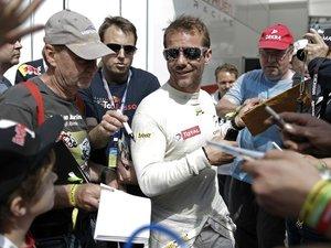 Sébastien Loeb au départ de l'Aveyronnaise Classic