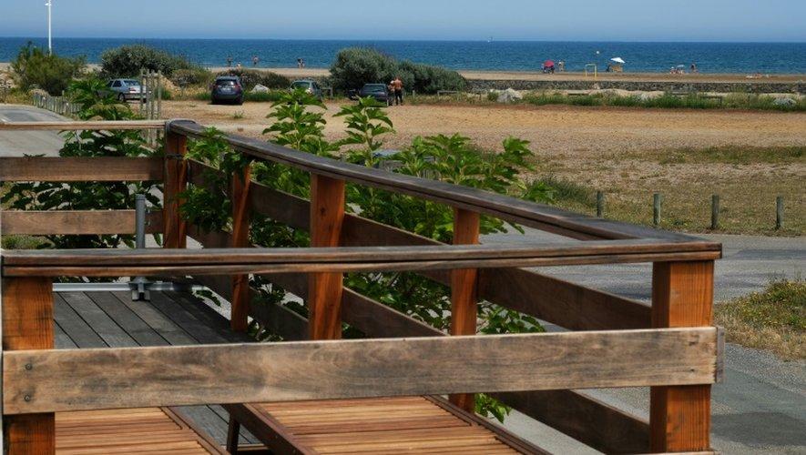 La plage de Gruissan, dans l'Aude, le 29 juin 2016