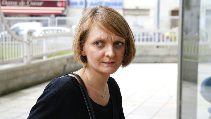 Rachel Lambert à son arrivée au palais de justice le 9 juin 2016 à Reims