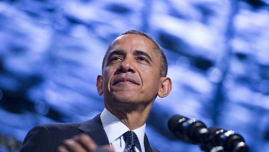 Le président américain Barack Obama, le 31 octobre 2013 à Washington