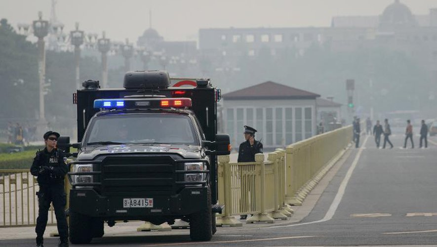 """La Chine accuse un groupe islamiste de """"soutien"""" à l'attentat de Tiananmen"""