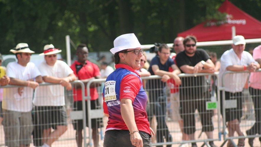 Valérie Besombes, licenciée du SA Paris, s'impose pour la sixième fois.