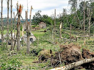 Tempête dans l'Ouest-Aveyron : les habitants de Marmont n'ont pas oublié