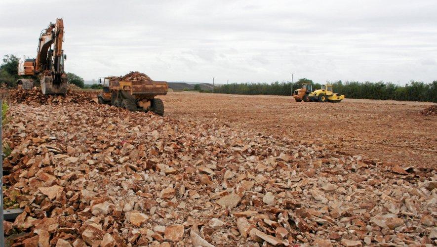 Une surface de 6000 m² est en cours de réalisation sur le site du Comtal.