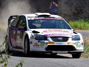 Rallye du Rouergue : Olivier Marty de bout en bout