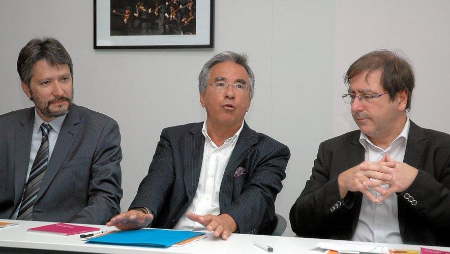 Jean-Philippe Keroslian a reçu le soutien du Département et de Jean-François Galliard.