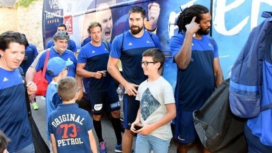 Handball : les Experts s'entraînent à l'Amphi, 800 Aveyronnais ravis