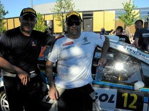 Rallye du Rouergue : les équipages aveyronnais à l'arrivée !