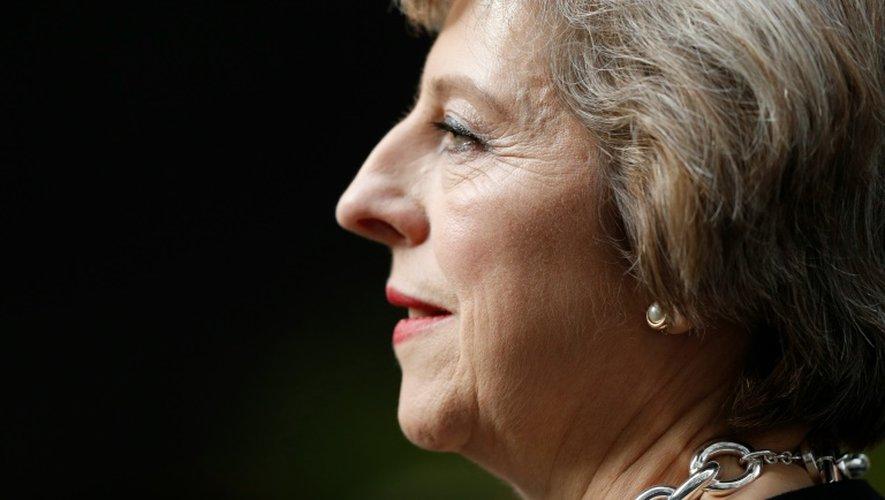 La nouvelle Première ministre britannique, Theresa May, le 13 juillet 2016