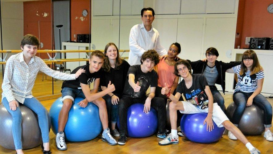 Depuis le début de la semaine, neuf jeunes apprentis comédiens venus de l'agglomération et âgés de 15 à 20 ans, travaillent une œuvre avec pour objectif un spectacle public.