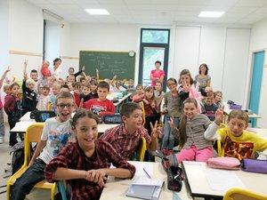 Saint-Chély-d'Aubrac : la rentrée dans une école toute neuve