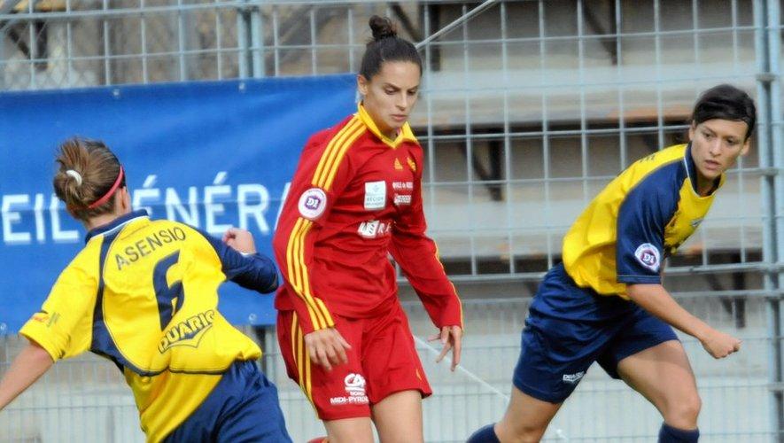 Les filles du Raf se déplacent à Saint-Etienne, autre mal classé, pour un match de la peur.