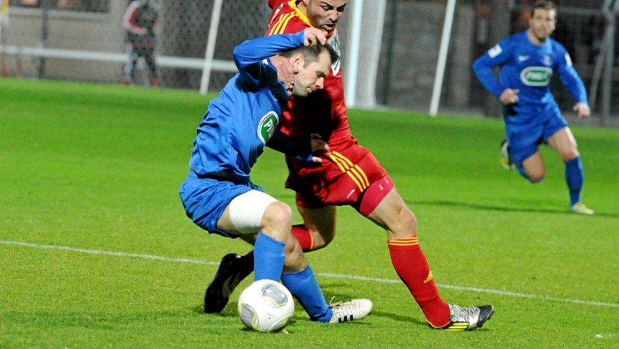 Dimanche, Rodez a dû attendre les tirs au but pour se qualifier en Isère pour le 8e tour de la Coupe de France.