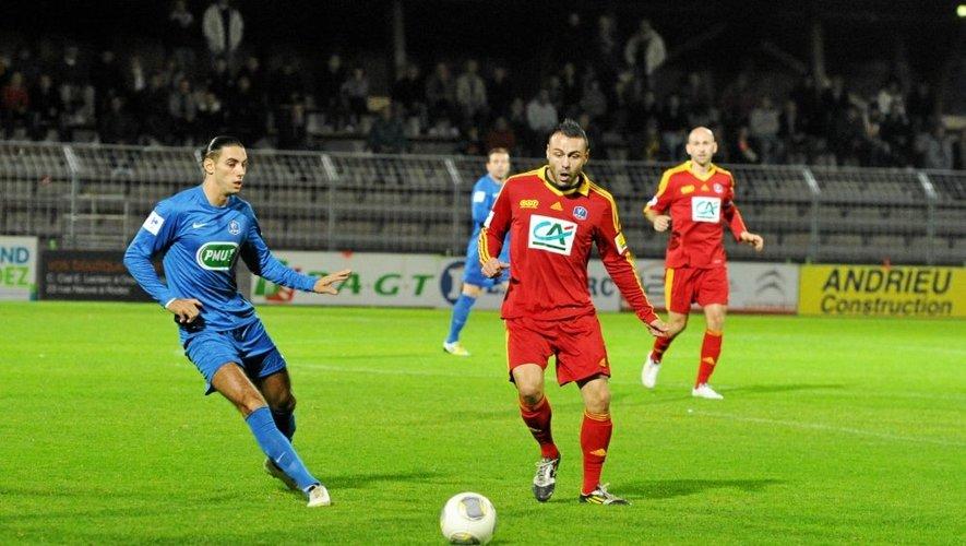 Julien Lorthioir et Freddy Castanier étaient de l'épopée du Raf en Coupe.