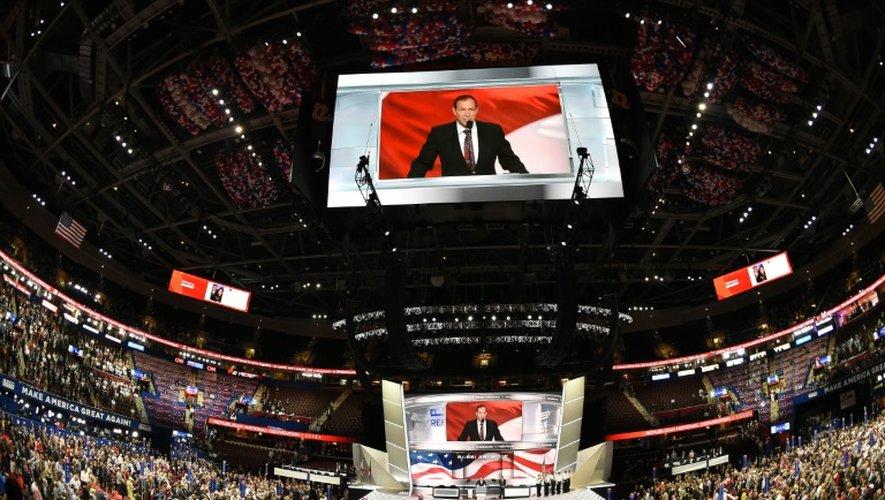 A Cleveland, le show Donald Trump est lancé