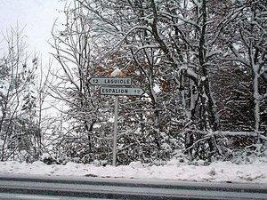 La neige devrait faire son retour sur l'Aubrac ce week-end !