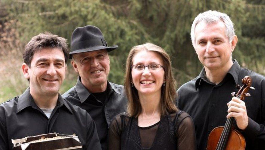 Les musiciens de 4Tangos promettent une «Noche del Tango» enflammée, aujourd'hui à 21 heures.