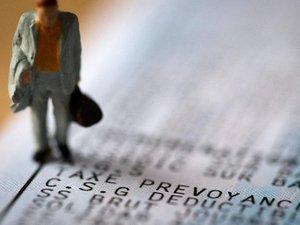 """Fiscalité: Michel Sapin favorable """"sur le principe"""" d'une CSG  progressive"""