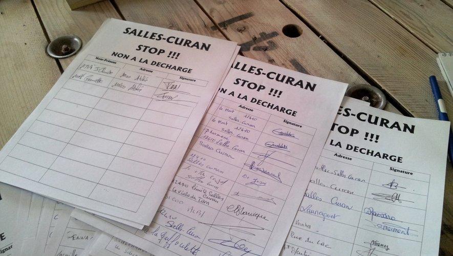 La pétition qui circule a recueilli plusieurs centaines de signatures.