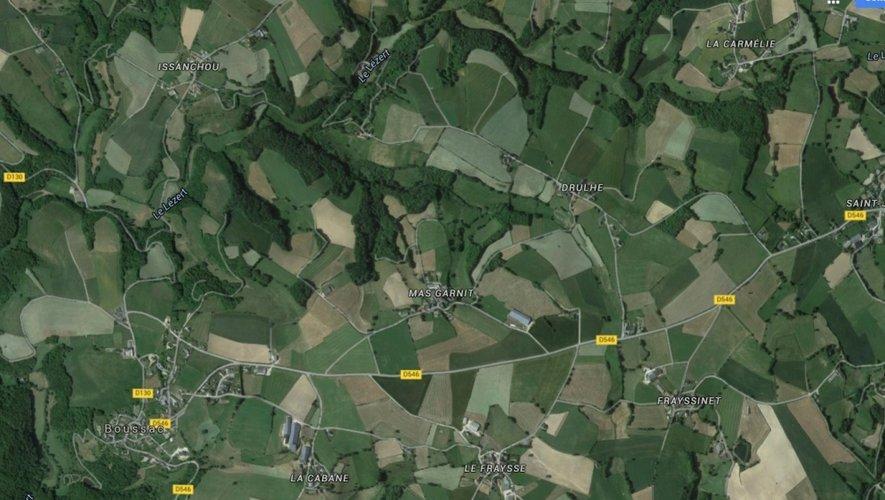 Les faits se sont produits au lieu-dit Mas Garnit, sur la commune de Boussac.