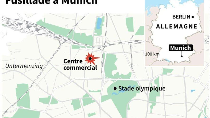Allemagne : fusillade à Munich
