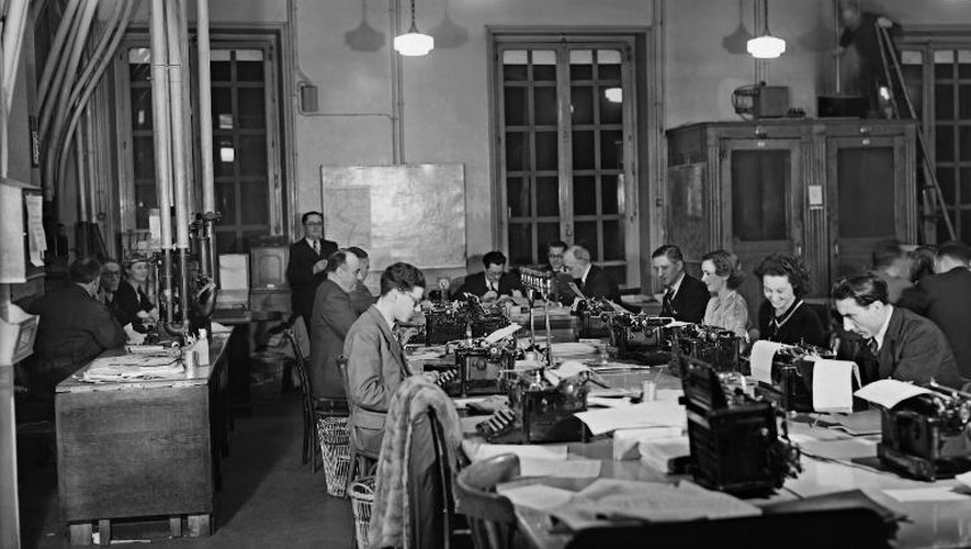 Ao U00fbt 1944  Paris Et Sa Presse Sont Lib U00e9r U00e9s