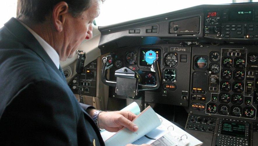 Dernières consignes avant le décollage.
