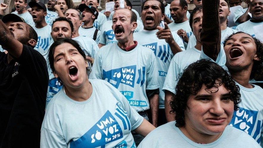 A Rio, des SDF à la voix puissante sur le devant de la scène