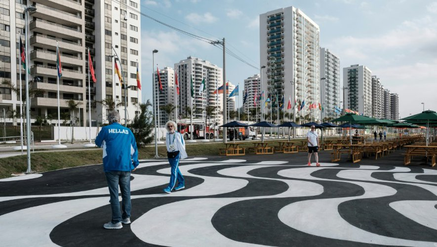Vue du Village olympique de Rio, le 23 juillet 2016