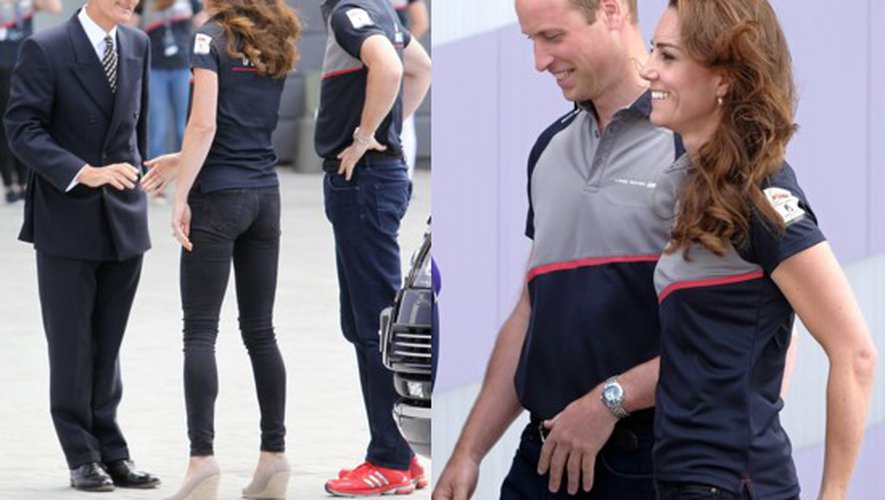 Coupe de l'America 2016 : Kate et William en supporters casual