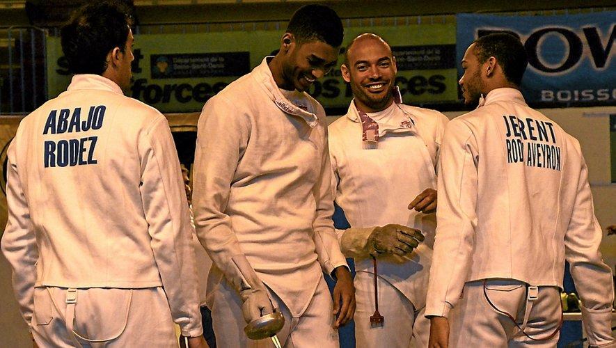 L'équipe médaillée de bronze en 2013 et championne de France en 2012, avec José-Luis Abajo (de dos à gauche) qui n'est, aujourd'hui, plus au club.