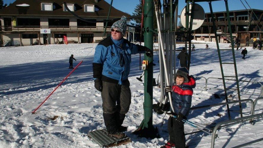 Laguiole : ouverture en douceur sur les pistes de ski